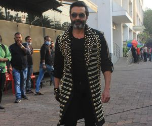 Bobby Deol At Indian Pro Music League Filmcity