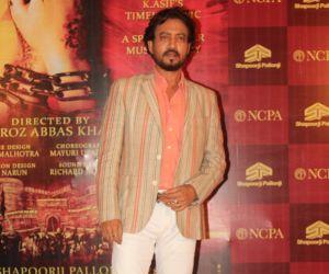 Irrfan Khan  Celebs at red carpet of musical play Mughal E Azam