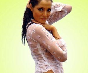Wet and sizzling Celina Jaitly