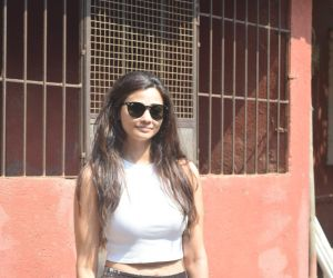 Daisy Shah spotted at Dance class in Andheri
