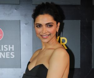 Deepika Padukone's look in an offbeat black Balmain ensemble is gorgeous