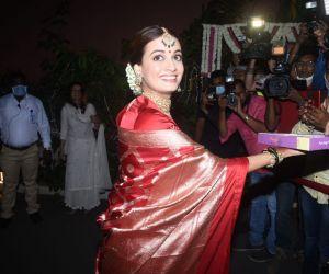 Dia Mirza Pose For Media photo
