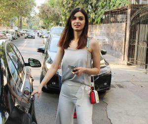 Diana Penty spotted at juhu