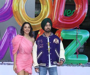 Diljit Dosanj and Kiara Advani Trailer launch of New Film Good Newwz at Cinepolis