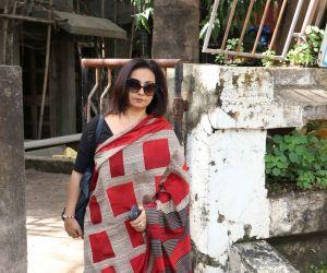Divya Dutta aat kromakay salon in juhu