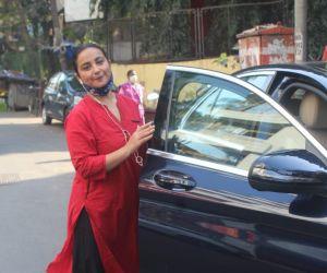 Divya Dutta Spotted In Juhu