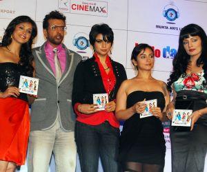Eesha Koppikar, Javed Jaffrey, Gul Panag, Divya Dutta and Celina Jaitly at the Music Launch of Movie Hello Darling