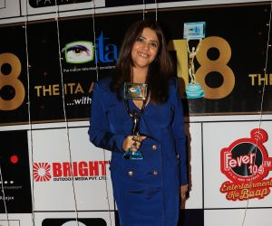 Ekta Kapoor at ITA awards
