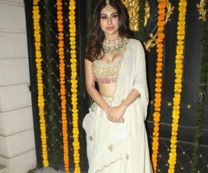 Mouni Roy join Ekta Kapoor's Diwlali Party At Her House In Juhu
