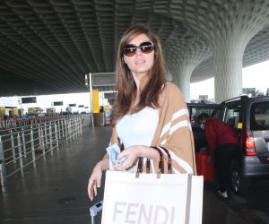 Elnaaz Norouzi Spotted At Airport Departure
