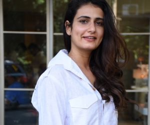 Fatima Sana Shaikh spotted at sequel bandra