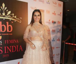 Femina Miss India Conference With Manushi Chillar