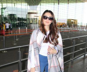 Hansika Motwani Spotted At Airport Departure