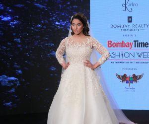 Hina Khan Bombay Times Fashion Week 2020 Day-1