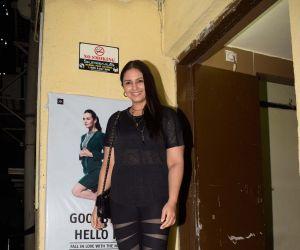 Huma Qureshi spotted at pvr juhu