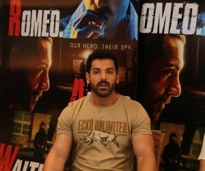 Interview Of John Abraham, For His Forthcoming Film, Raw