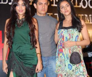 Jiah Khan, Aamir Khan and Asin