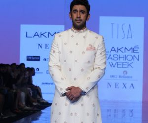 Actor Amit Sadh On Ramp In L FW 2020