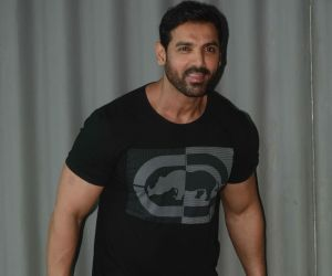 John Abraham  at andheri