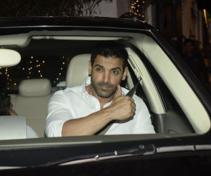 John Abraham party at his office