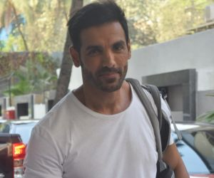 John Abraham Spotted Tseres Office In Andheri