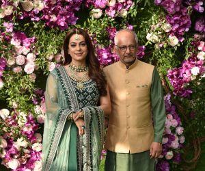Juhi Chawla at Ambani wedding