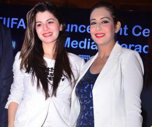 Kainaat Arrora and Prity Jhinganiya @ Award Announcement Ceremony