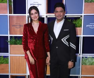 Actress Divya Khosla Kumar attended Jeff Bezos Welcome Bash.