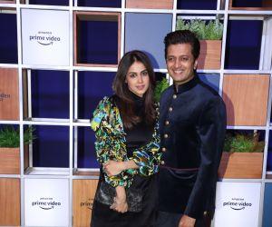 Actor Ritesh Deshmukh and Genelia D Souza attended Jeff Bezos Welcome Bash.