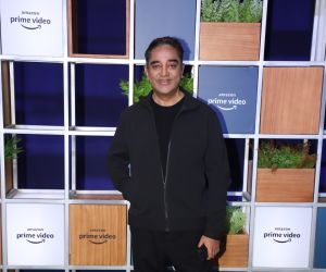Actor Kamal Haasan attended Jeff Bezos Welcome Bash.