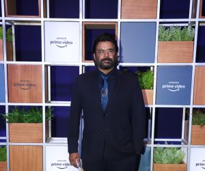 Actor Madhavan attended Jeff Bezos Welcome Bash.
