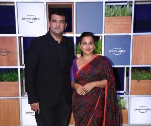 Actress Vidya Balan attended Jeff Bezos Welcome Bash