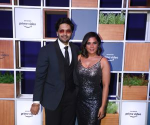 Actress Richa Chadda and Ali Fazal attended Jeff Bezos Welcome Bash.