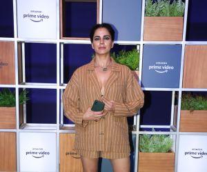 Actress Kirti Kulhari attended Jeff Bezos Welcome Bash.