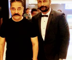 Kamal Hassan and Vikas Srivastav new pic