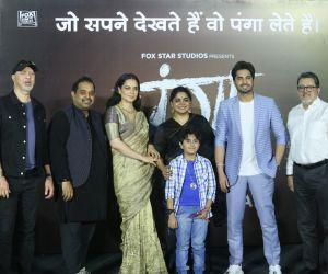 Hindi Movie Panga  trailer launch Event photo.