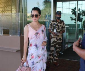 Kangana Ranaut Spotted At Airport Departure