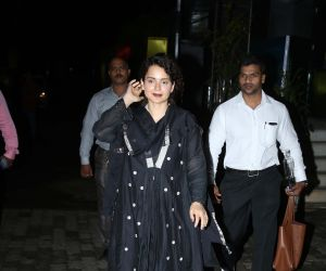Kangana Ranaut spotted at censor board office in pedar road mumbai