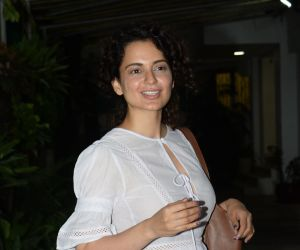 Kangana Ranaut spotted at juhu