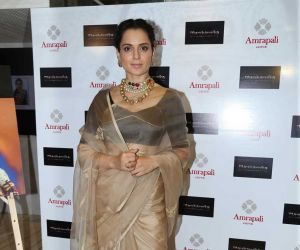 Kangana Ranaut Unveil The First Look Of Amrapali X Manikarnika Jewellery Collection