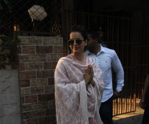 Kangana Ranawat spotted at Bandra