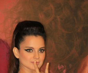 Kangana Ranaut @ Trailer launch of film Judgemental Hai Kya