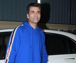 Karan Johar at screening