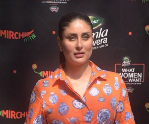 Kareena Kapoor During The Event Of Her Radio Show What Women Want At Bandra
