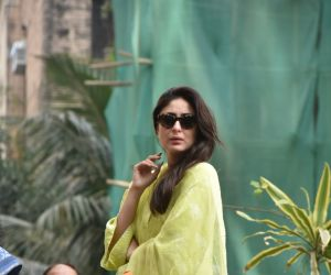 Kareena Kapoor during the flag hoisting ceremony