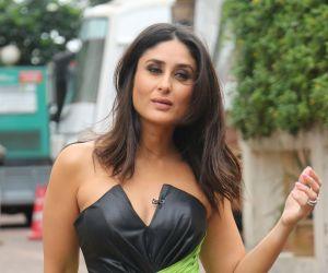 Kareena Kapoor on the sets of Zee TV Dance India Dance at filmcity goregaon