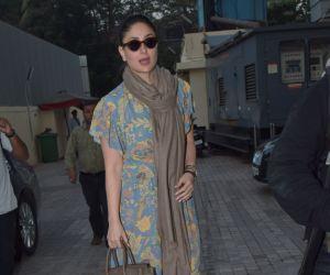 Actress Kareena kapoor spotted at pvr juhu.