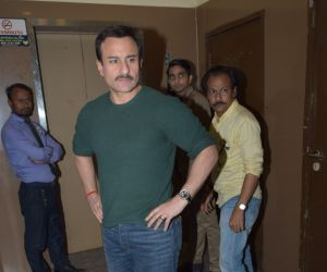 Actor Saif Ali Khan seen at pvr juhu - photos 01