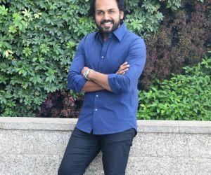 Actor Karthi During an Interview.