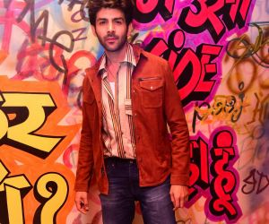 Actor Kartik Aryan during the promotions of Love Aaj Kal 2 at bkc
